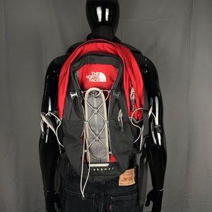 Red North Face Slingshot Backpack